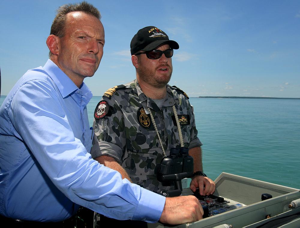 Tony Abbott visits an ACPB