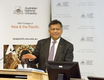 ASEAN Secretary General, Dr Surin Pitsuwan, at the launch of the Southeast Asia Institute, ANU (Photo credit: Ty Mason, ANU)