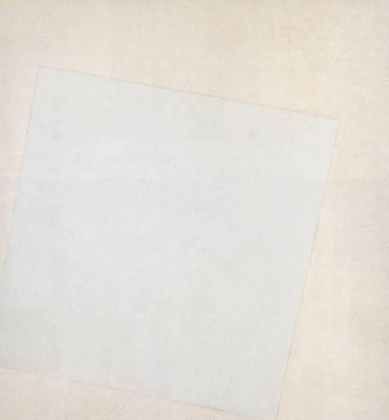 Kazimir Marevich's 'White on White', 1918.