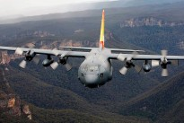 Air Force will officially retire its remaining C-130Hs on 30 November 2012. Ahead of the type's retirement from service, the aircraft with the distinctive commemorative tail artwork flew over the Blue Mountains, the NSW Coast and Sydney Harbour area, acknowledging the strong links the C-130H has held with these communities since the first of 12 aircraft arrived at RAAF Base Richmond in July of 1978.