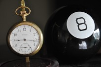What does the magic eight ball say?
