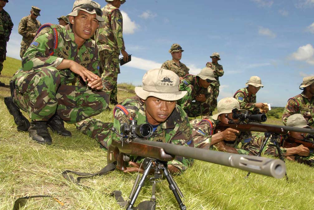 The Pindad SPR (abbreviation from Indonesian : Senapan Penembak Runduk, Sniper Rifle) is a sniper rifle produced by PT. Pindad, Indonesia.
