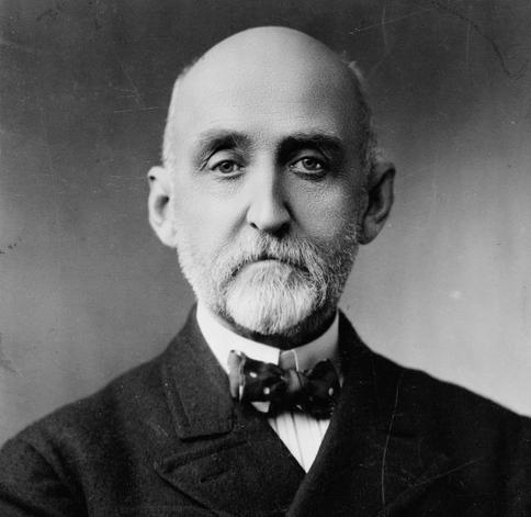 Admiral Afred Thayer Mahan