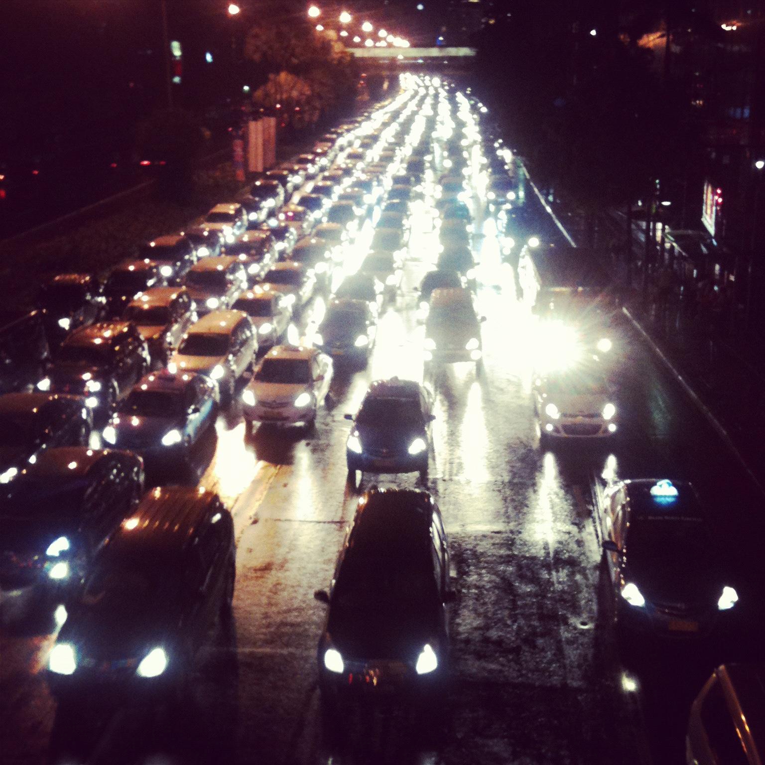 Jakarta, business as usual. Photo credit: Natalie Sambhi