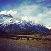 Aoraki/Mt Cook in New Zealand's Mackenzie district. Image credit: Natalie Sambhi
