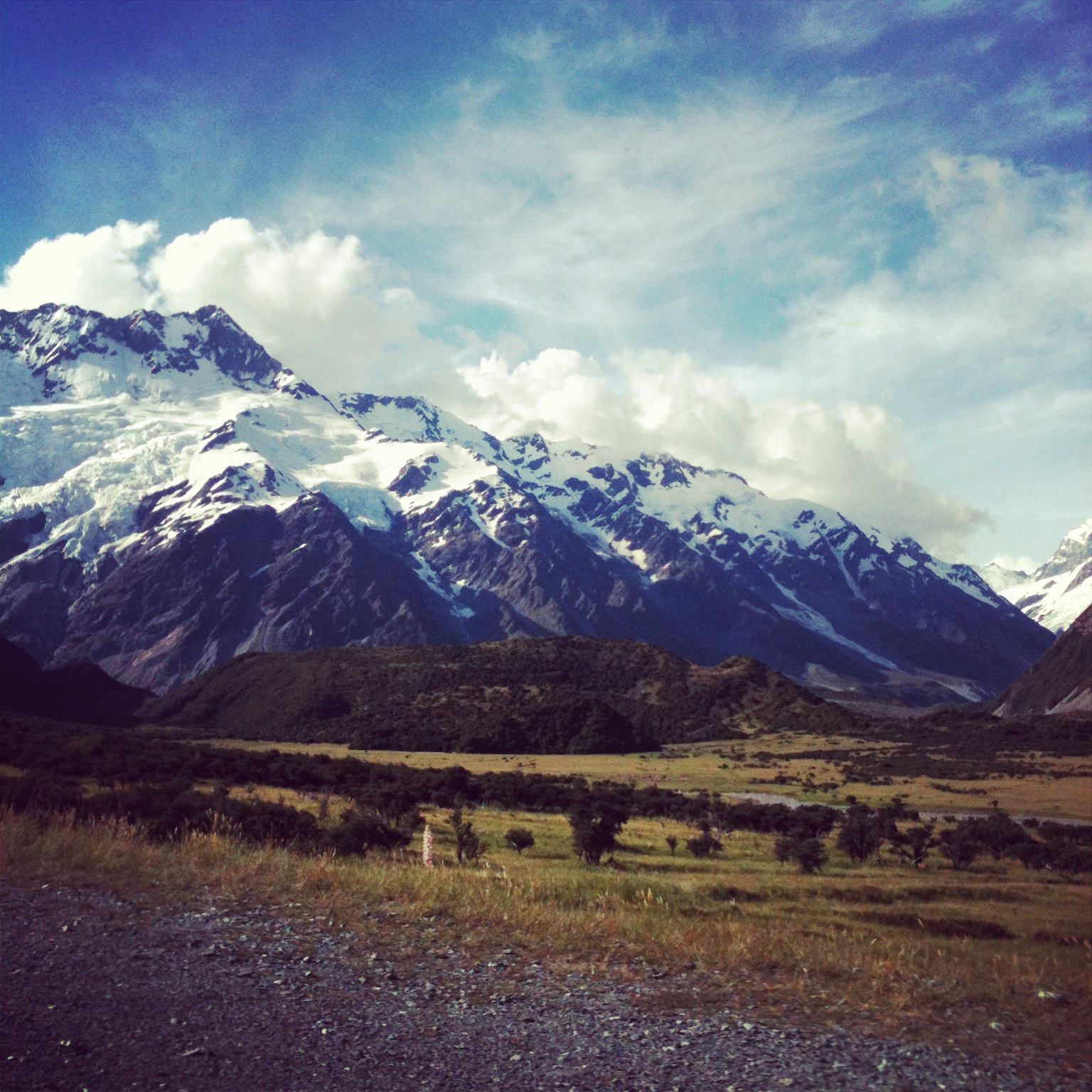Aoraki/Mt Cook in New Zealand's Mackenzie district. Image credit: Natalie Sambhi