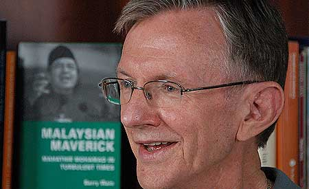 Barry Wain, Image credit: malaysiakini