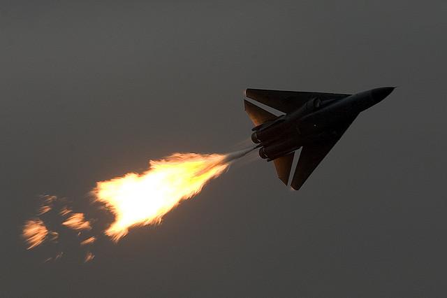 A Royal Australian Air Force F-111