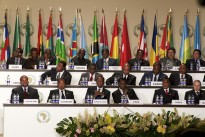 The 17th Ordinary African Union Summit in Malabo, Equatorial Guinea.