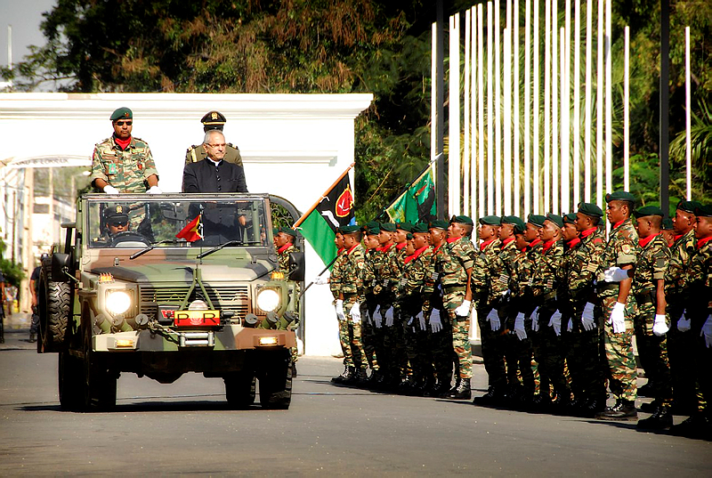 East Timorese Defence Force personnel were on parade on 20th August to celebrate the 34th anniversary of Falintil Day.