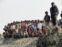 Rohingya from Rakhine state, Myanmar