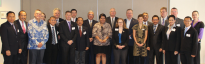 Group shot of the ASPI-Defence 1.5 track dialogue with Indonesia (photo credit: Luke Wilson, ASPI)