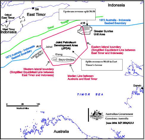 Joint Petroleum Development Area