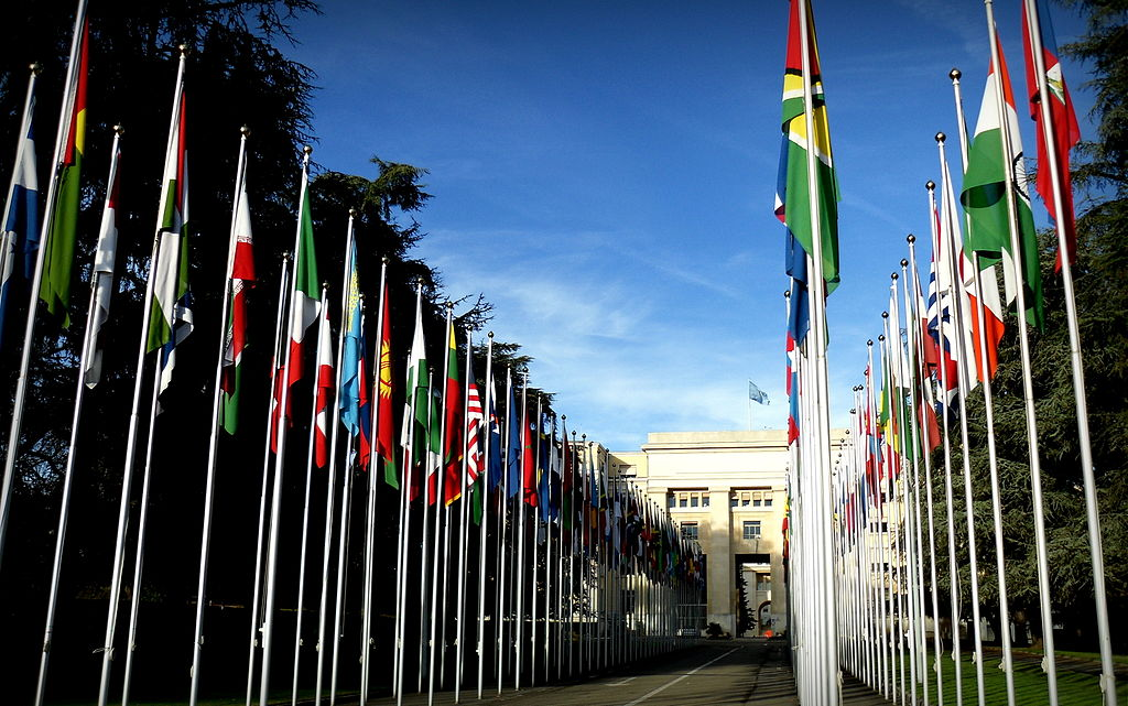 Palais des Nations, the Geneva home of the UN