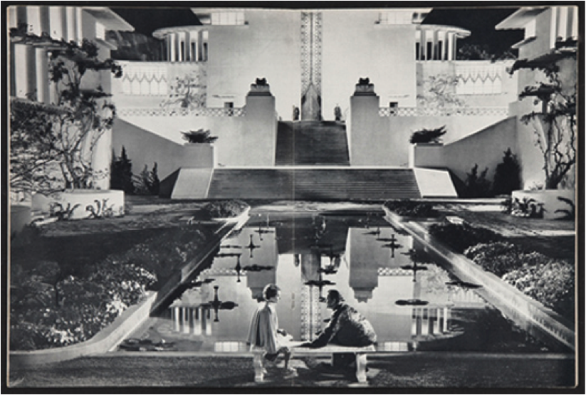 Shangri-La. Still from 'The Lost Horizon' (1937)