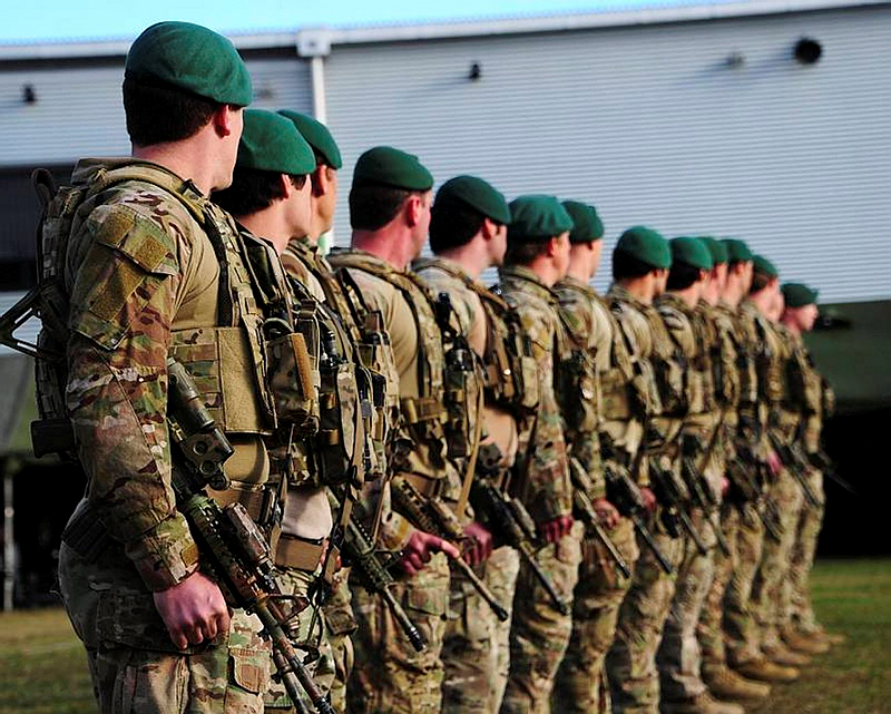Soldiers from the 2nd Commando Regiment were today presented with the Eastern Shah Wali Kot battle honour by the Governor-General, Her Excellency the Honourable Quentin Bryce, AC, CVO, at Holsworthy Barracks, Sydney.