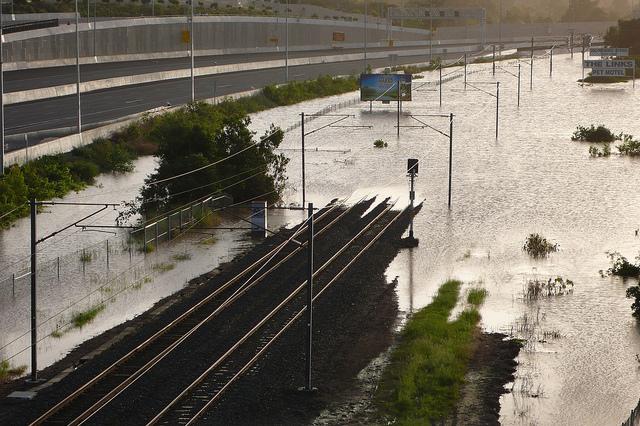 Brisbane Floods - Gailes Queensland
