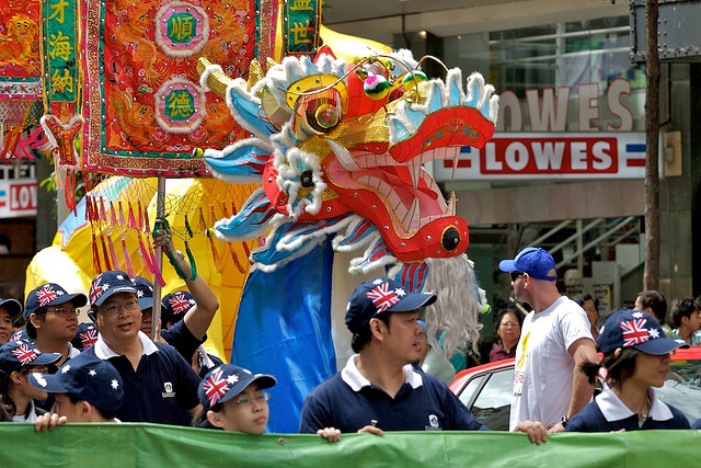 Chinese New Year, Sydney 2008.