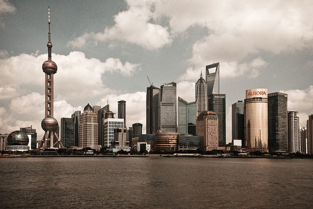 What might an alternative world order look like? Image: Shanghai Pudong