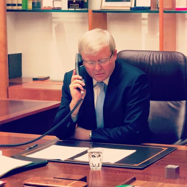 PM Kevin Rudd
