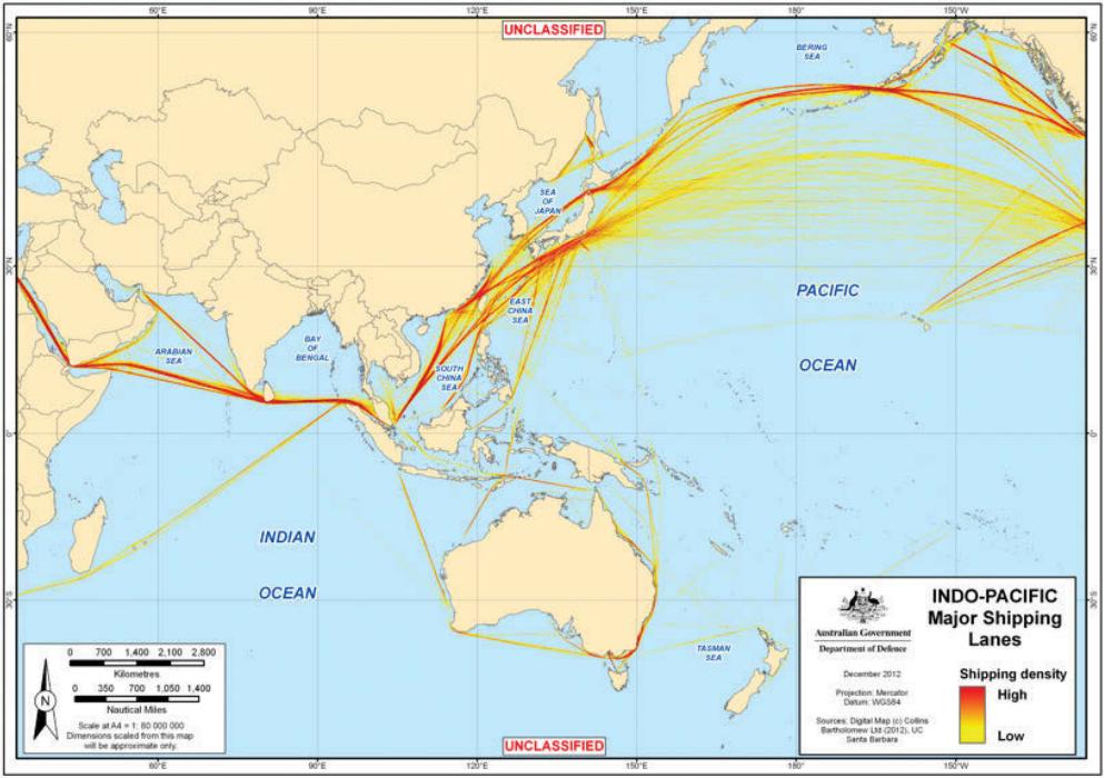 Shipping A Car >> Indo-pacific shipping lanes DGIO