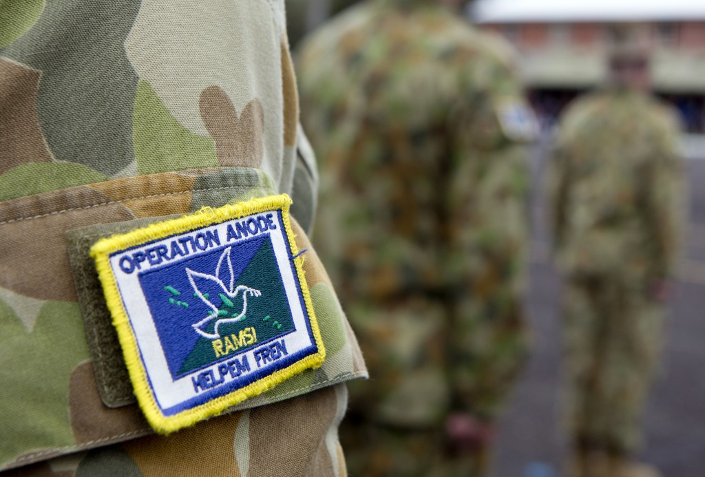 The final rotation of Australian soldiers has returned home from Solomon Islands, following the completion of the Australian Defence Force's military contribution to the Regional Assistance Mission to Solomon Islands (RAMSI).