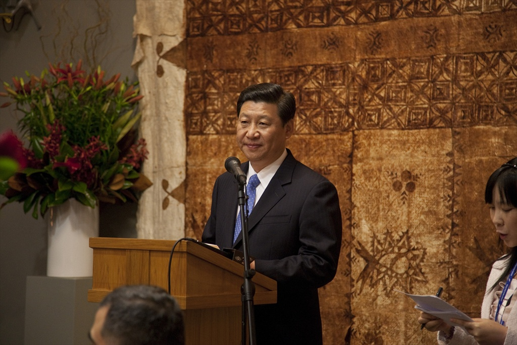 Official dinner at Government House in Auckland for then Chinese Vice President (now President) Xi Jinping, 17 June 2010