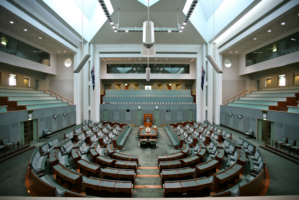 Australian House of Representatives - Canberra