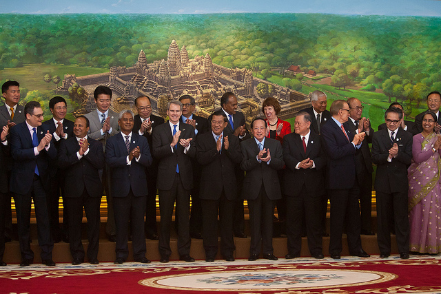 High Representative Catherine Ashton travelled to Asia in November 2012 and participated in the 19th ASEAN Regional Forum taking place in Cambodia. Whilst in Cambodia, Ashton visited a number of EU-funded projects.
