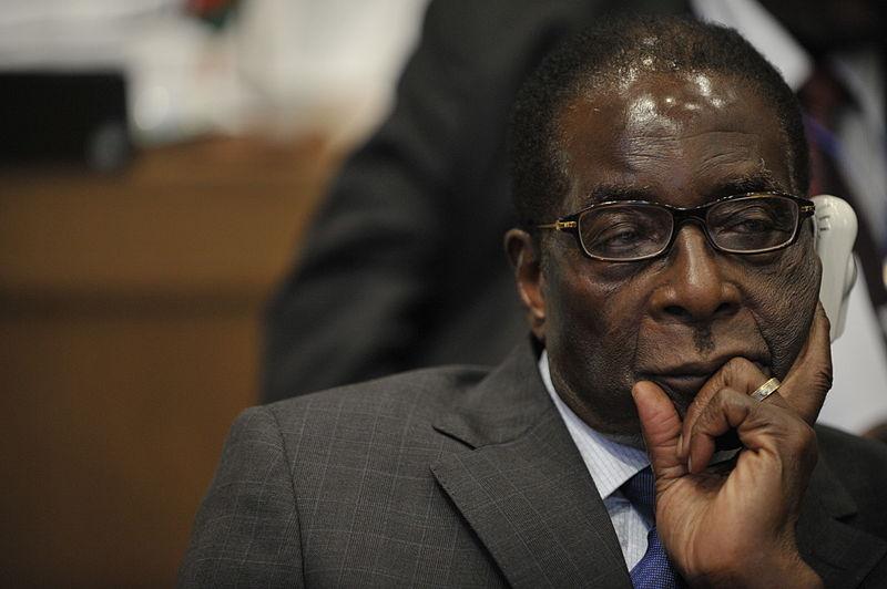Robert Mugabe, president of Zimbabwe, attends the 12th African Union Summit Feb. 2, 2009