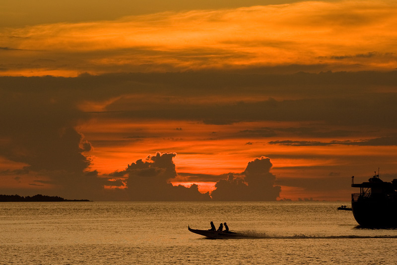 Just off Zamboanga Peninsula, in happier times.