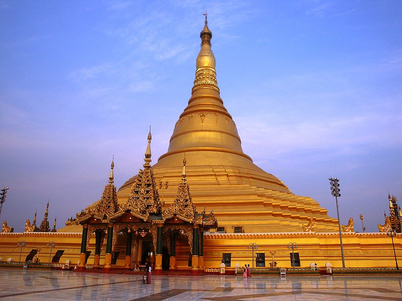 The Uppatasanti Pagoda in Naypyidaw, Myanmar's capital.