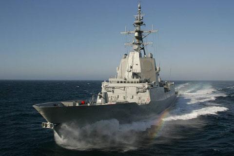 Hobart class DDG (artist's impression)