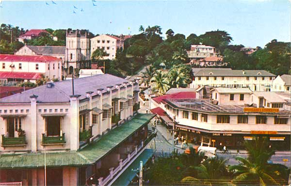 Suva, Fiji, in the 1950s