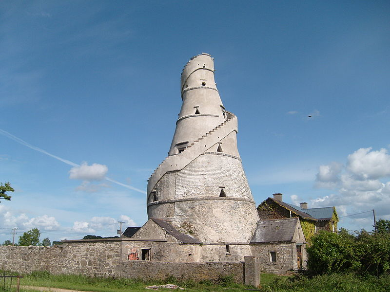 The Wonderful Barn, a famine folly built in 1743 on the Castletown House Estate in County Kildare, Ireland.