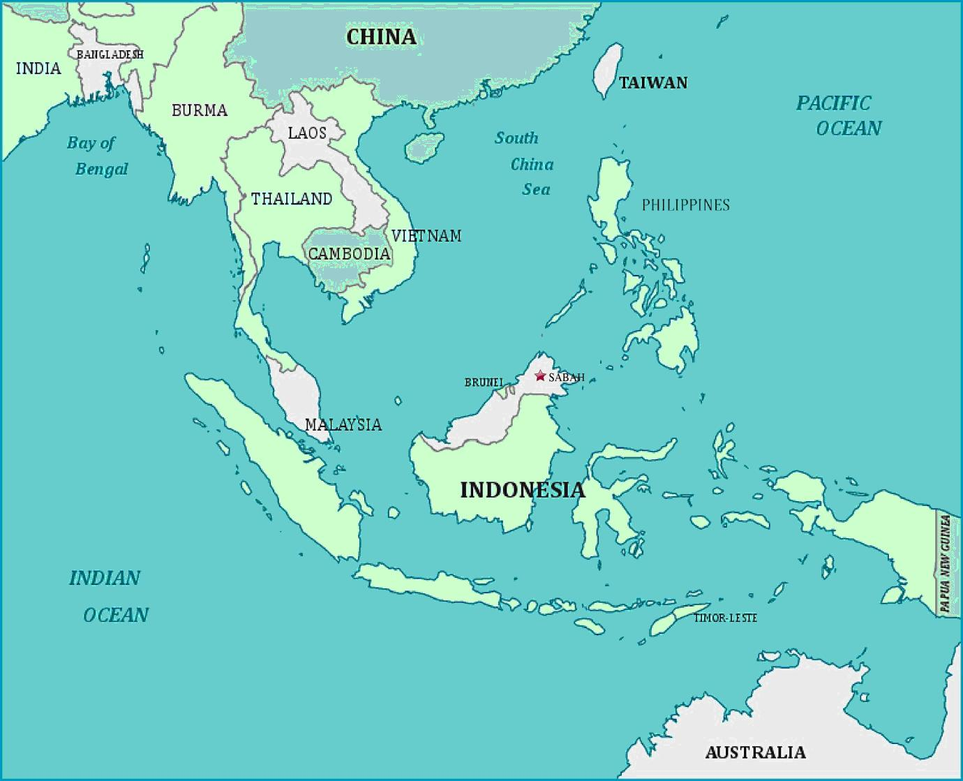 malaysia and china map Xi Jinping And The Sabah Enigma The Strategist malaysia and china map