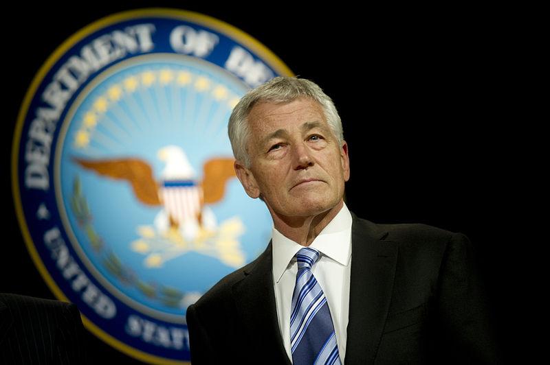 US Defense Secretary Chuck Hagel