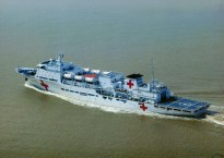 China's Peace Ark hospital ship