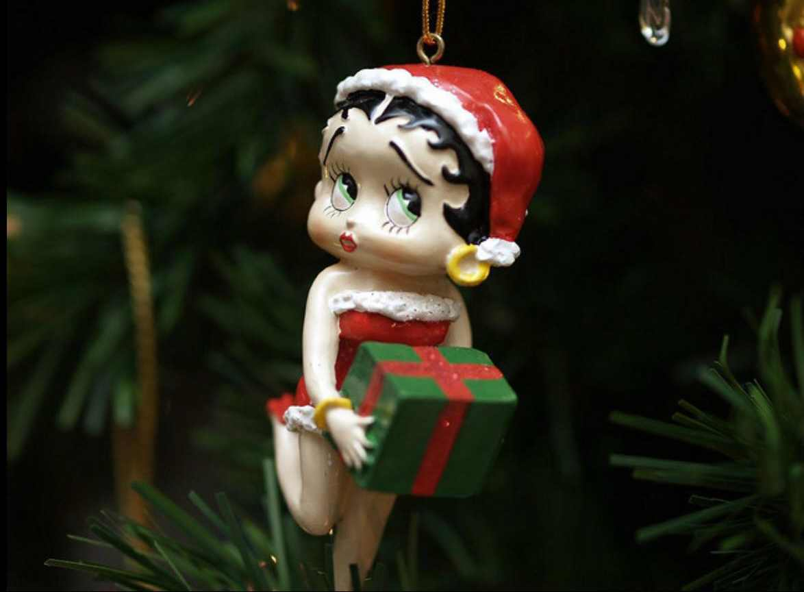 Have a Betty Boop Christmas!