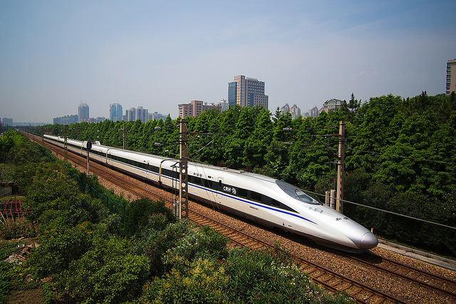Chinese high speed rail