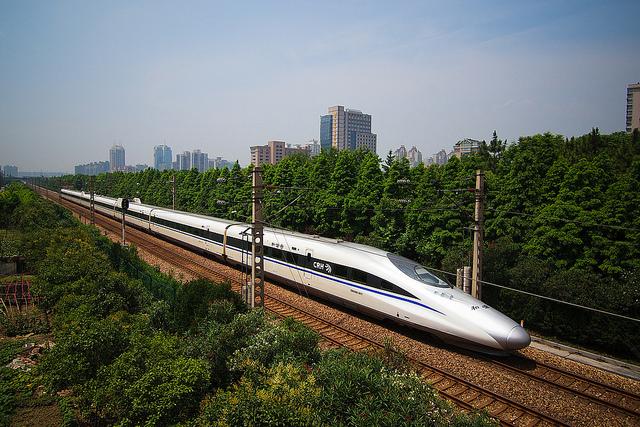 Chinese high speed rail