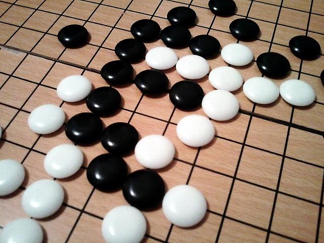 'Go' board game