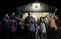 Indonesian President SBY on NYE 2014.