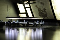 The war room, from Dr Strangelove