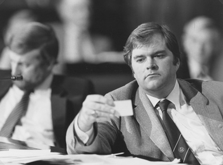 Vingtage Beazley: The Honourable Kim C Beazley MP, Minister for Aviation and Minister Assisting the Minister for Defence at Crimes Commission Conference, Parliament House, Canberra  Date : 1983