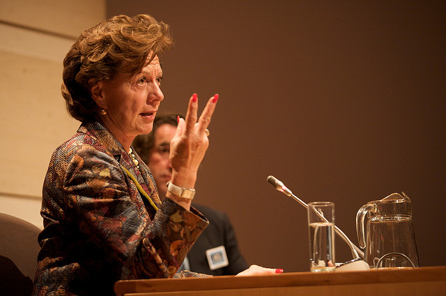 Neelie Kroes, European Commissioner for Digital Agenda, has a plan for internet governance that won't please the US.