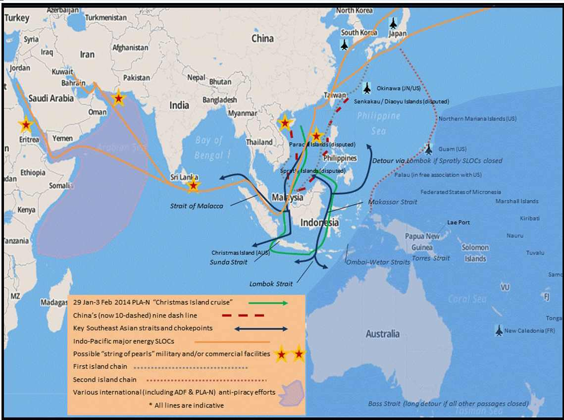 China S Sea Lines Of Communication Implications For The South