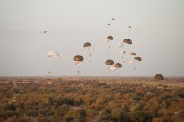 Paratroopers from France's 17th Parachute Engineer Regiment land at Timbuktu Airport, Mali to conduct an evaluation of the facility which was damaged by retreating insurgents. France's operations in Africa provide potential learning opportunities for Australia.