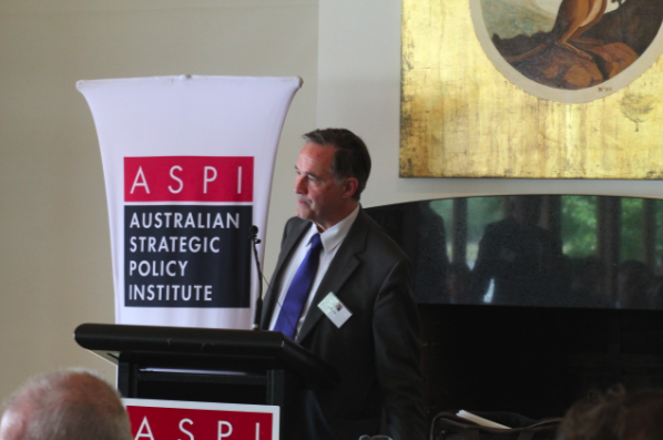 David Hale. Image courtesy of ASPI staff Luke Wilson and Cassandra Joyce.