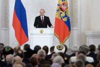Address by President Putin to the Parliament on 18 March.